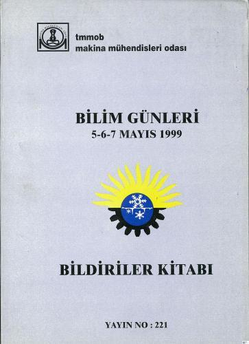 BİLİM GÜNLERİ 1999 BİLDİRİLER KİTABI